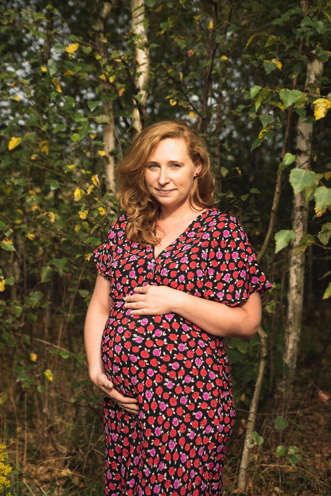 sesja ciążowa w plenerze