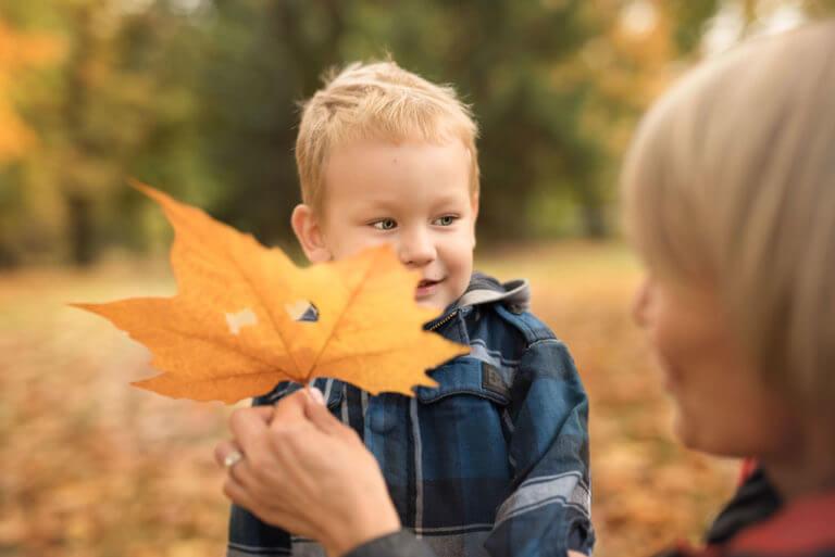 Jesienny plener rodzinny