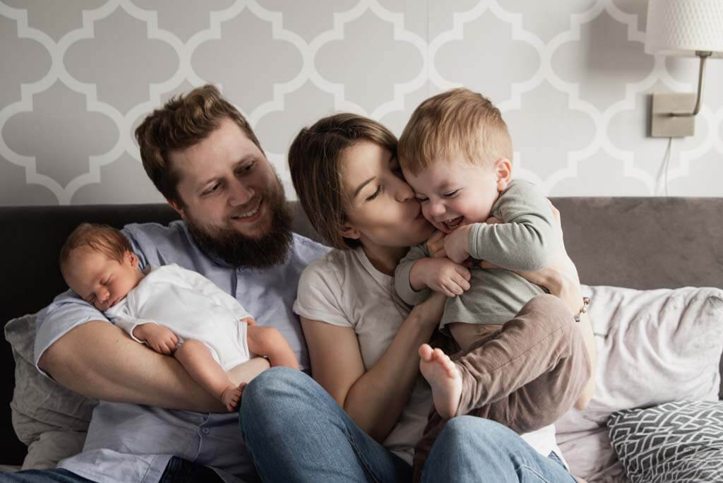 naturalna sesja rodzinna